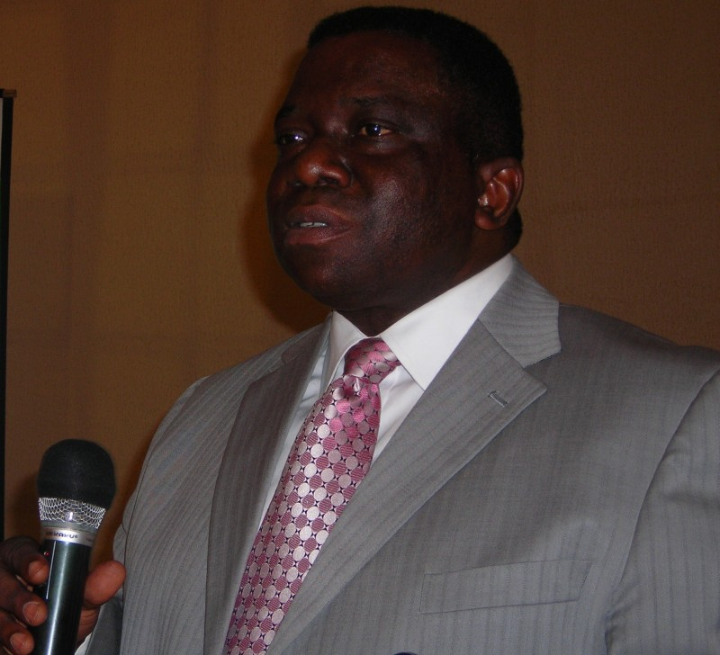 Health Minister Prof Isaac Adewole
